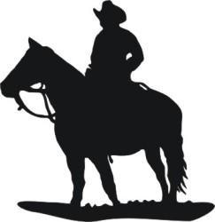 Cowboy_Silhouette