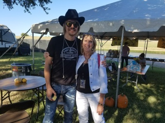 Do you watch The Voice? This is me with Austin Allsup #TeamBlake!