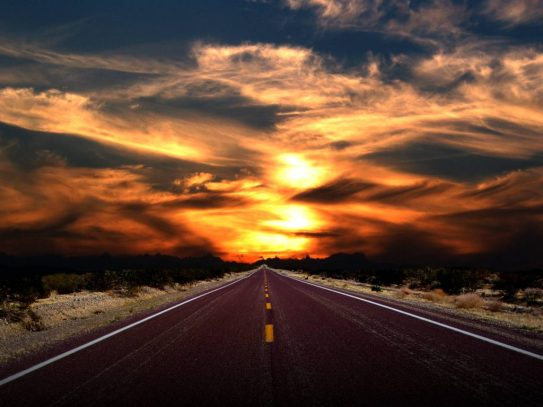 Road_Sunset