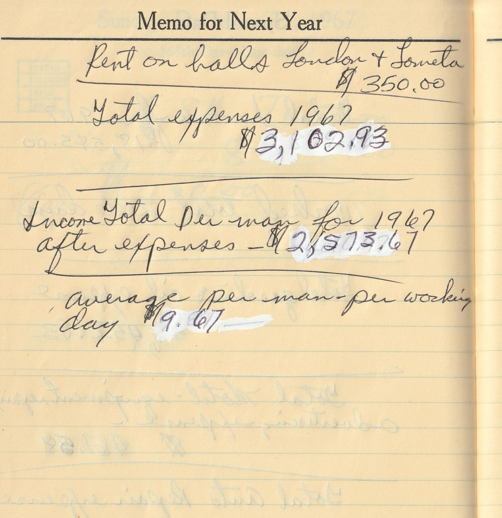 Journal_1967_Rick_Sikes_Year_end