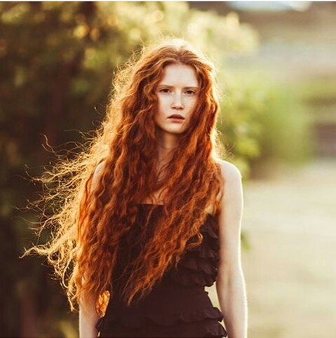 female red hair