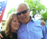 Me and Sonny Throckmorton in May 2009.